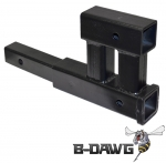 """Class III Dual Hitch Receiver (fits 2"""" receivers)"""