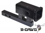 Class II to Class III Hitch Riser/Adapter