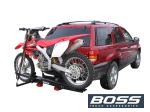 Single Motorcycle Carrier with Ramp