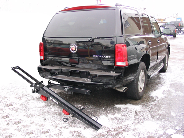 Double Hitch Mounted Motorcycle Carrier Hitch Mounted Motorcycle